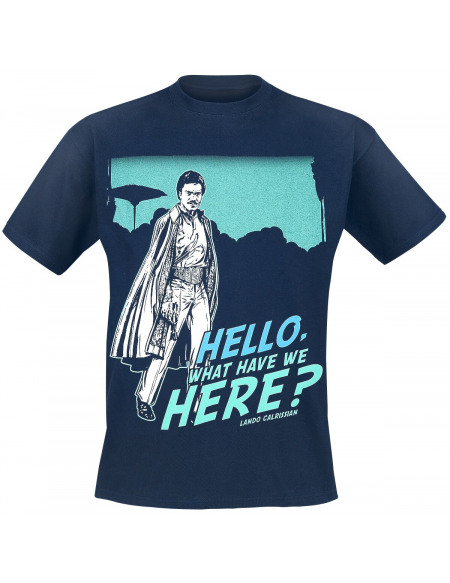 Star Wars Lando Calrissian T-shirt bleu
