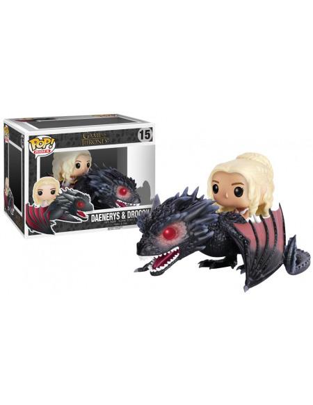 Game Of Thrones Daenerys Targaryen & Drogon - Funko Pop! n°15 Figurine de collection Standard