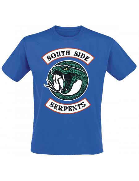 Riverdale South Side Serpents T-shirt bleu