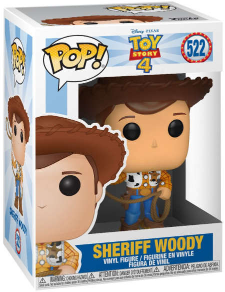 Figurine Funko Pop Disney Toy Story 4 Woody