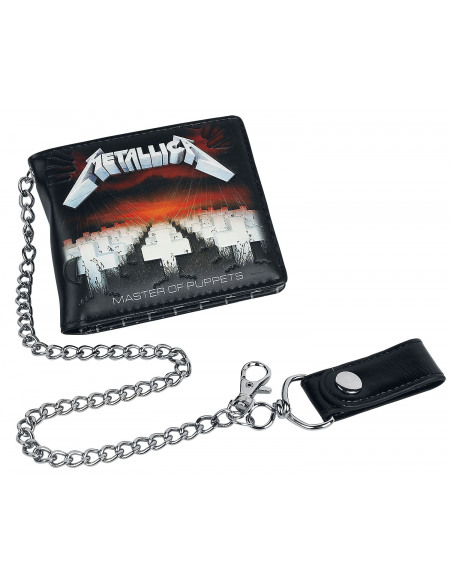 Metallica Master Of Puppets Portefeuille Standard