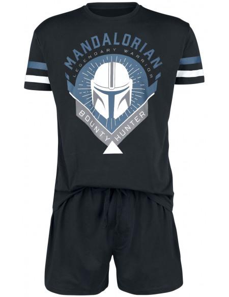 Star Wars The Mandalorian - Bounty Hunter Pyjama noir