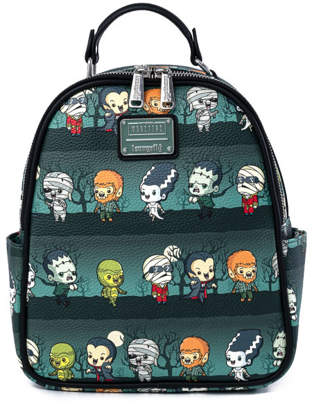 Monstres Universels Loungefly - Personnages - Chibi Sac à Dos multicolore