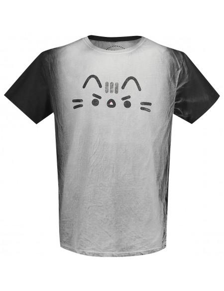 Pusheen Grimace T-shirt noir/gris