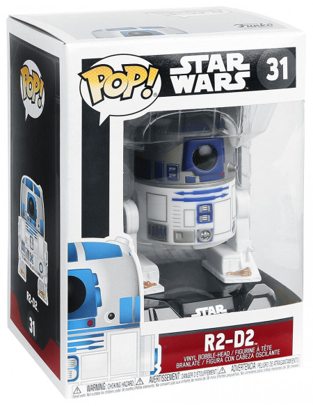 Star Wars Figurine En Vinyle R2-D2 31 Figurine de collection Standard