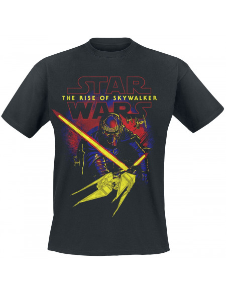 Star Wars Épisode 9 - L'Ascension de Skywalker - Kylo Ren - Beware Of The Dark Side T-shirt noir