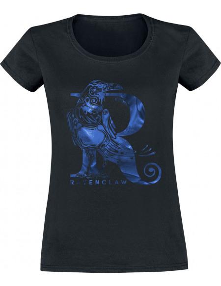 Harry Potter Serdaigle - Corbeau T-shirt Femme noir