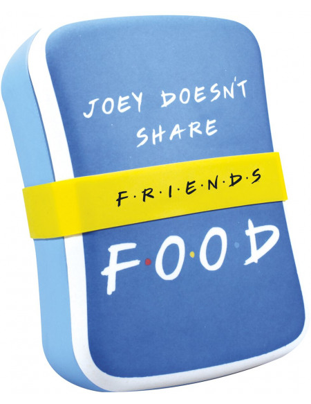 Friends Joey Doesn't Share Food Boîte repas multicolore