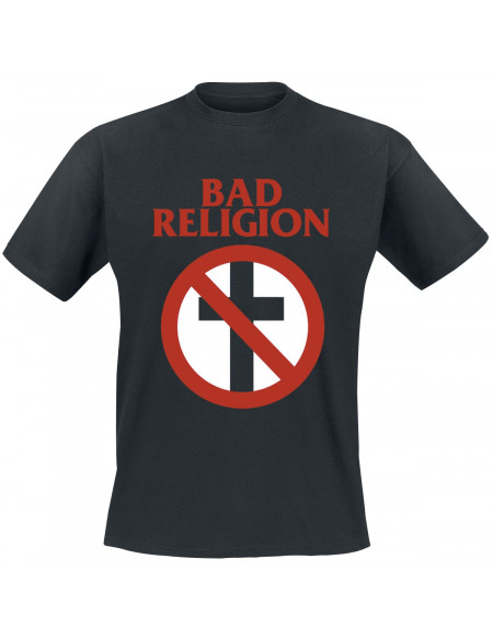Bad Religion Cross Buster T-shirt noir