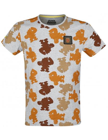 Super Mario Donkey Kong T-shirt gris chiné
