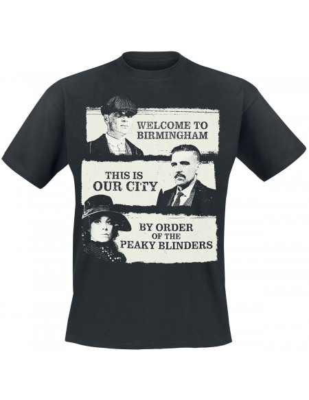 Peaky Blinders This Is Our City T-shirt noir