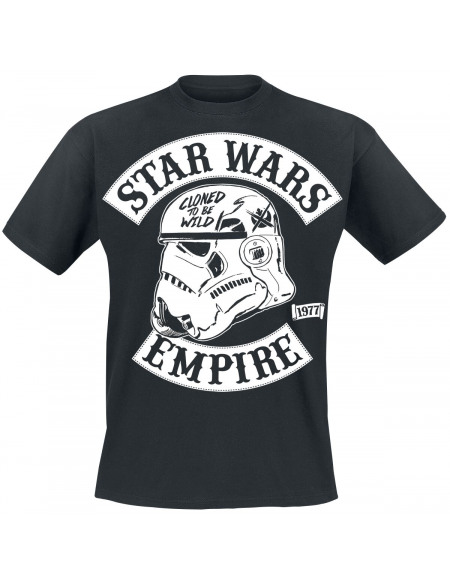 Star Wars Cloned To Be Wild Stormtrooper T-shirt noir