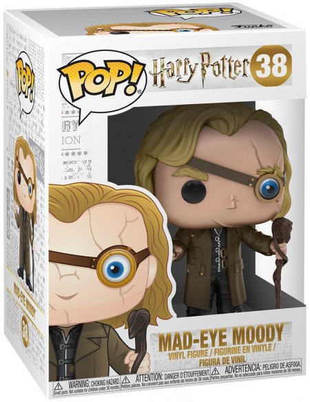 Harry Potter Figurine En Vinyle Fol Oeil 38 Figurine de collection Standard