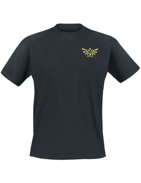 The Legend Of Zelda Symboles T-shirt noir