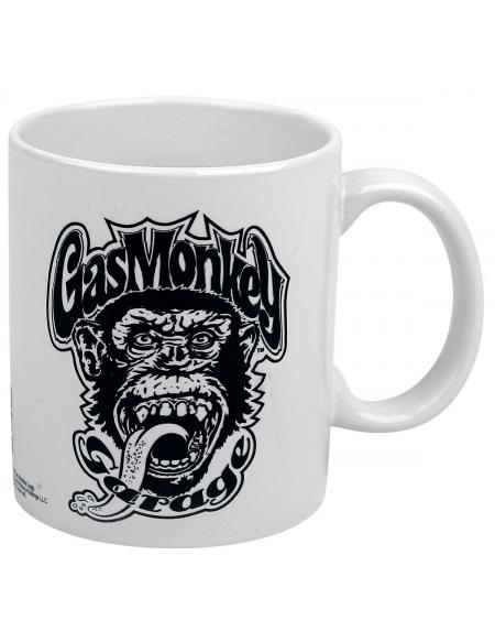 Gas Monkey Garage Blood, Sweat & Beers Mug blanc