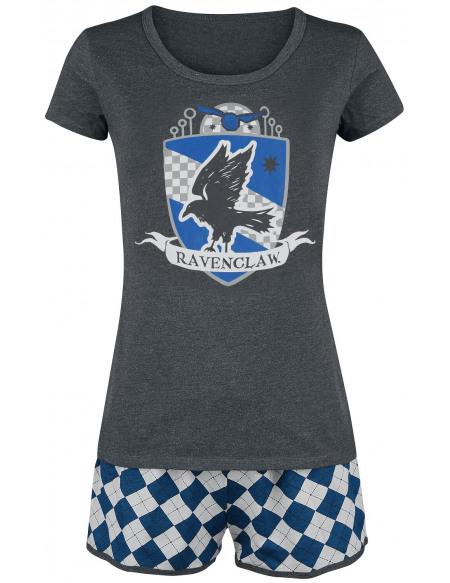 Harry Potter Ravenclaw Quidditch Pyjama gris/bleu