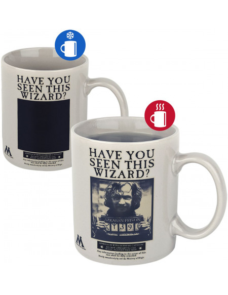 Harry Potter Wanted Sirius Black - Mug Avec Imprimé Aluminium Mug multicolore
