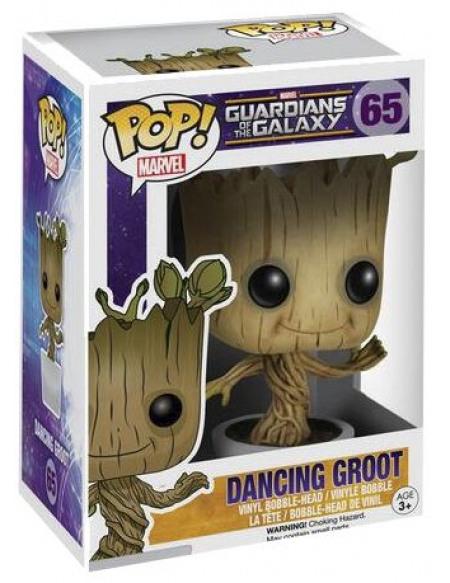 Les Gardiens De La Galaxie Figurine Bobblehead Dancing Groot 65 Figurine de collection Standard