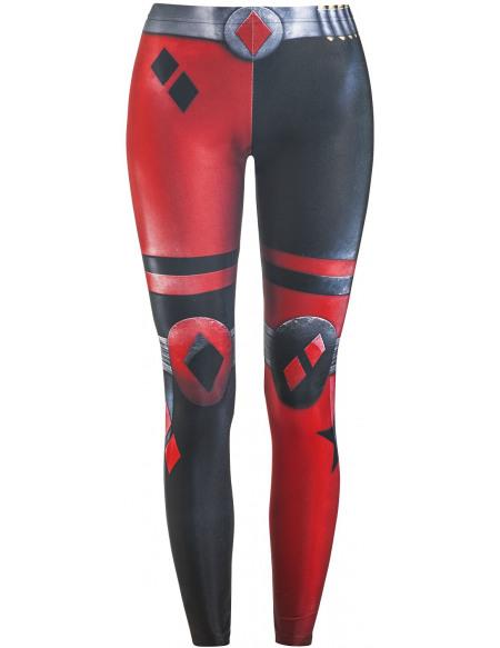 Harley Quinn Wild Bangarang - Skater Legging noir/rouge