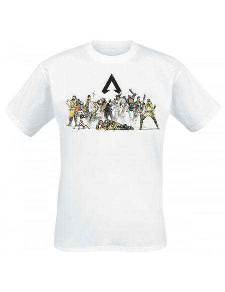 Apex Legends Groupe T-shirt blanc