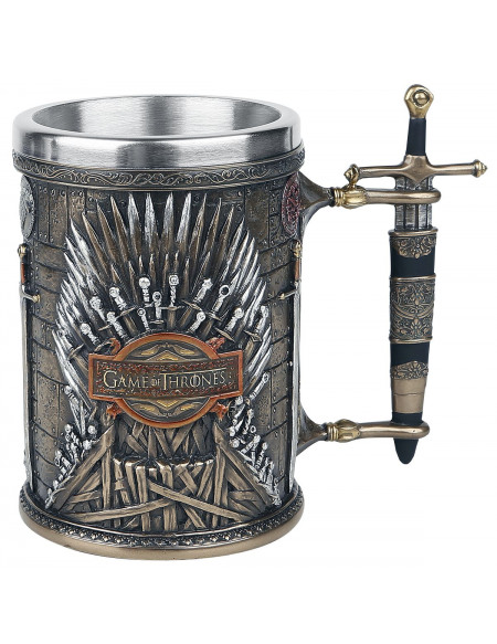 Game Of Thrones Chope Iton Throne Chope à bière multicolore