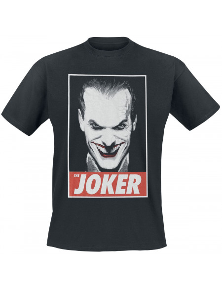 Batman Joker T-shirt noir