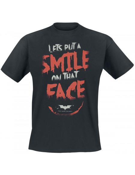 Batman Réplique Smile T-shirt noir