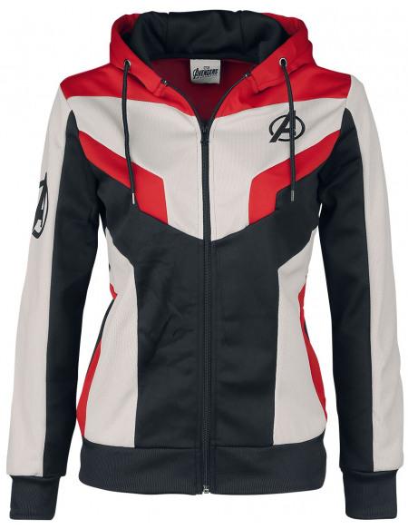 Avengers Endgame - Quantum Suit Veste à Capuche Femme multicolore