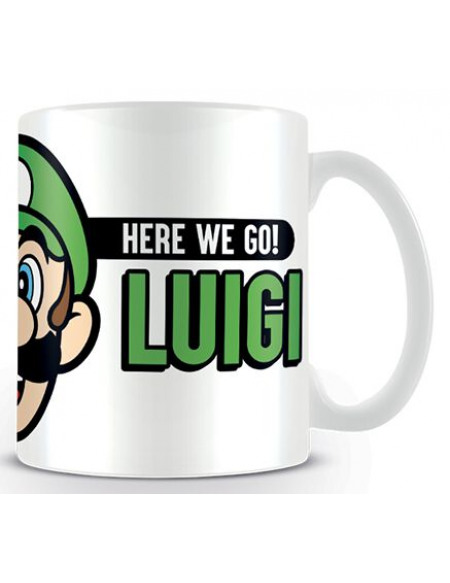 Super Mario Here We Go Luigi Mug multicolore