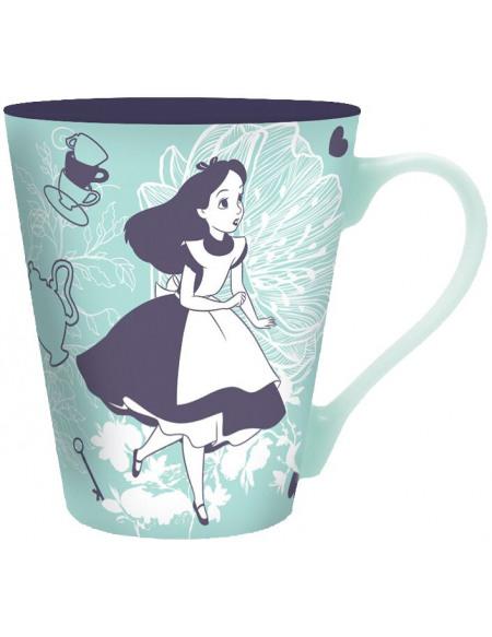 Alice Au Pays Des Merveilles Alice & Cheshire Cat Tasse à thé multicolore