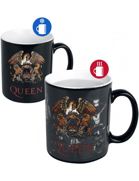Queen Crest - Mug Thermoréactif Mug multicolore
