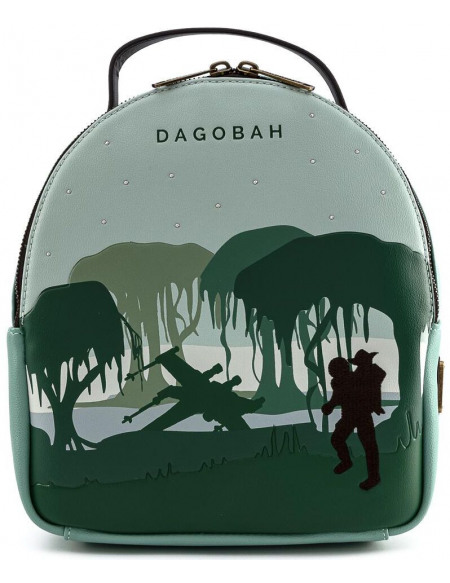 Star Wars Loungefly - Dagobah Sac à Dos multicolore
