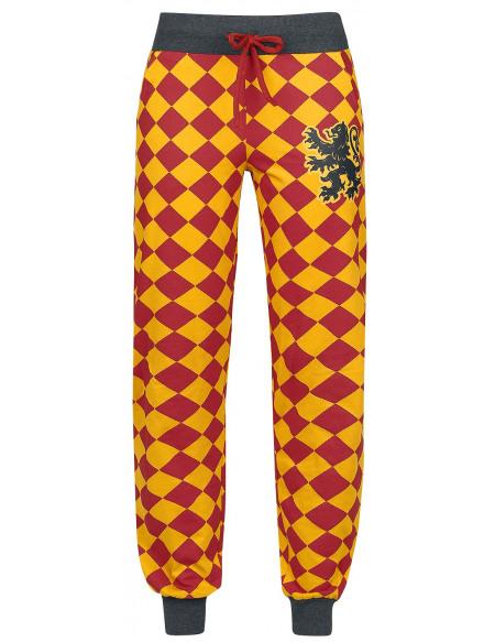 Harry Potter Griffindor Bas de pyjama jaune/rouge