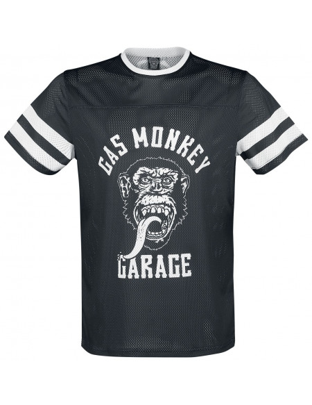Gas Monkey Garage Monkey T-shirt noir/blanc