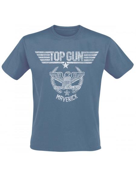 Top Gun Maverick - Vintage T-shirt bleu