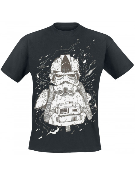 Star Wars Episode 4 - Hoth Trooper T-shirt noir