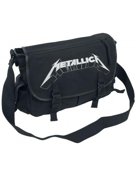 Metallica Logo Besace noir