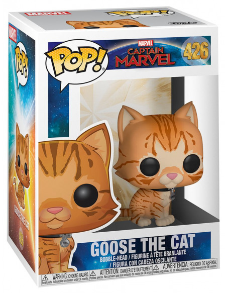 Captain Marvel Goose the Cat - Funko Pop! n°426 Figurine de collection Standard