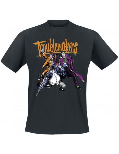 Batman Troublemakers T-shirt noir
