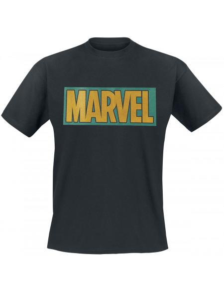 Loki Marvel Logo T-shirt noir