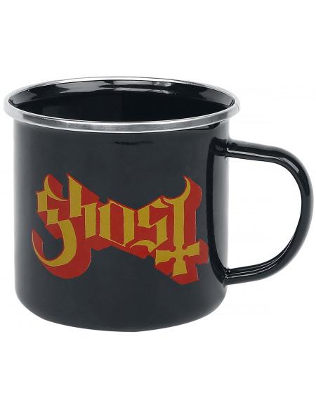Ghost Ghost Logo Mug noir