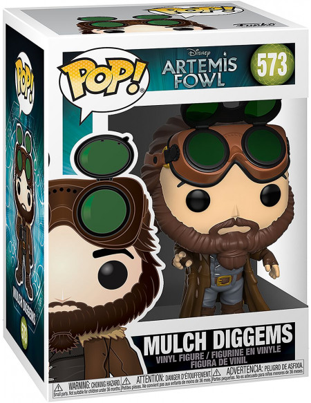 Artemis Fowl Mulch Diggems - Funko Pop! n°573 Figurine de collection Standard