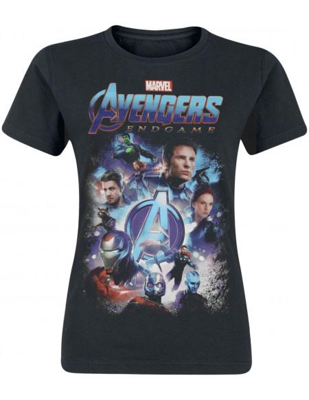 Avengers Endgame - Teaser T-shirt Femme noir