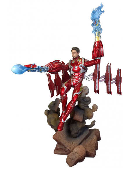 Avengers Endgame - Iron Man MK50 Unmasked Statuette Standard