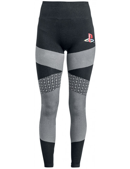 Playstation Retro Legging noir/gris