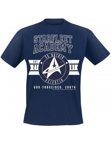Star Trek Ex-Astris Scientia T-shirt marine
