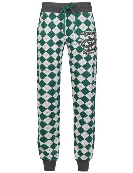 Harry Potter Serpentard Bas de pyjama vert/gris