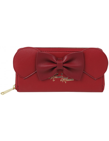 Mickey & Minnie Mouse Loungefly - Minni Portefeuille rouge