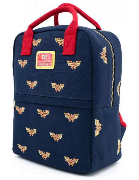 Wonder Woman Loungefly - All Over Sac à Dos multicolore