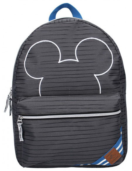 Mickey & Minnie Mouse Peep Sac à Dos gris